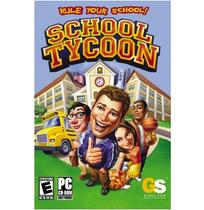 Jogo p/ PC School Tycoon CD Original Mídia Física - Global star software