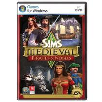 Jogo p/ PC The Sims Medieval: Pirates  Nobles (expansão) DVD Original Mídia Física - Ea