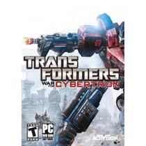 Jogo p/ PC Transformers: War for Cybertron Dvd Original Mídia Física - Activision