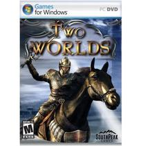Jogo p/ PC Two Worlds DVD Original Mídia Física - South