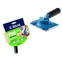 Jogo Pad Lã Pintura De Pisos/decks + Pad 360 P/ Recorte - Atlas