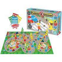 Jogo Para Crianças É Proibido Estacionar - Leis De Trânsito - Nig Brinquedos