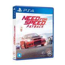 Jogo Para Ps4 Need For Speed Payback - Ea