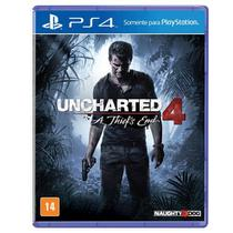 Jogo para PS4 Uncharted 4 A Thiefs End Sony - Sony dadc brasil