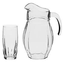 Jogo para refresco Dance Indigo 7 pecas em vidro (2L+6x320ml) - Pasabahce