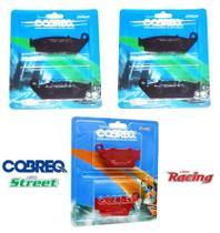 Jogo Pastilha Freio Hornet 600 Sem Abs 2008 2009 2010 2011 2012 2013 2014 Cobreq -