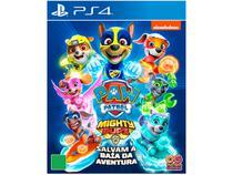 Jogo Patrulha Canina Super Filhotes - Salvam a Baía da Aventura para PS4 Outright Games