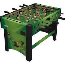 Jogo pebolim toto grande de mesa completo com contagem stadium para casa e bar - Mor