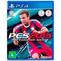 Jogo PES 2015 Pro Evolution Soccer - PS4 - Konami