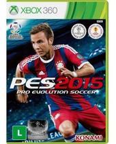 Jogo Pes 2015 (Pro Evolution Soccer) - Xbox 360 - Konami