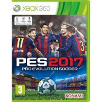 Jogo PES 2017 Pro Evolution Soccer - Xbox 360 - Konami