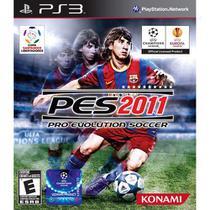 Jogo Pes Pro Evolution Soccer 2011 Ps3 Mídia Física Novo - Konami