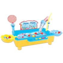 Jogo Pescaria Infantil Aqua-Pesca - Azul - NP-232 - Fenix -