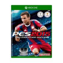 Jogo Pro Evolution Soccer 2015 PES 15 - Xbox One - Konami