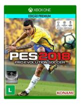 Jogo Pro Evolution Soccer 2018 (PES 2018) - Xbox One - Konami
