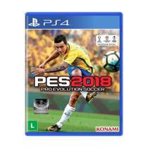 Jogo Pro Evolution Soccer 2018 - PS4 - Konami
