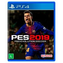 Jogo Pro Evolution Soccer 2019 - PES 19 - PS4 - Sony