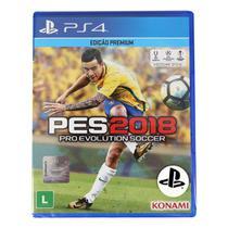 Jogo Pro Evolution Soccer (PES) 2018 PS4 - Konami