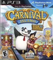 Jogo ps3 carnival island (requer playstation move pra jogar) - Sony