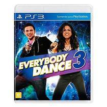 Jogo ps3 everybody dance 3 - Generico