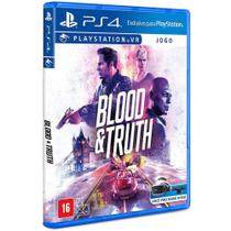 Jogo PS4 - Blood  Truth - VR Simulator - Playstation