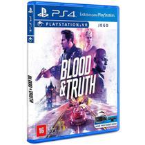 Jogo PS4 - Blood & Truth - VR Simulator - Playstation -