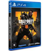 Jogo ps4 call of duty - black ops 4  activision -