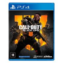 Jogo PS4 - Call of Duty - Black OPS 4 - Sony