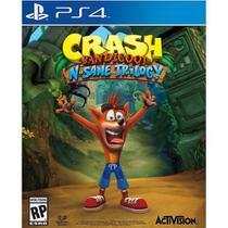 Jogo ps4 crash bandicoot n sane trilogy  activision -