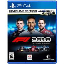 Jogo PS4 F1 2018 - Codemasters