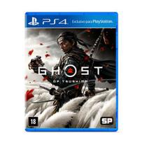 Jogo ps4 ghost of tsushima  sony -