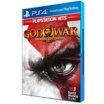 Jogo PS4 - God Of War III - Remasterizado - Playstation Hits - Sony -