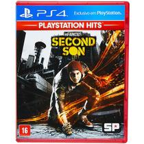 Jogo PS4 - Infamous Second Son - Playstation Hits - Playstation