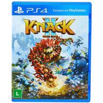 Jogo PS4 - Knack 2 - Playstation -