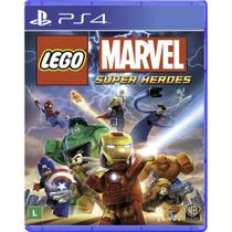 Jogo PS4 Lego Marvel Super Heroes - Wb games