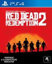 Jogo PS4 - Red Dead Redemption II - Sony -
