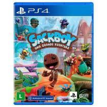 Jogo ps4 sackboy: uma grande aventura   playstation -