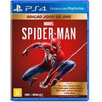 Jogo ps4 spider-man goty edition  sony -