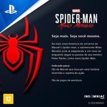 Jogo ps4 spider-man:miles morales  playstation -