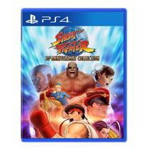 Jogo PS4 Street Fighter 30TH Collection Sony