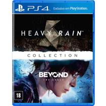 Jogo ps4 the heavy rain and beyond: two souls - collection  playstation -