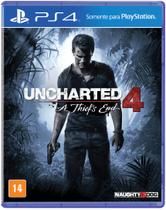 Jogo PS4 Uncharted 4 A Thiefs End - Naughty dog