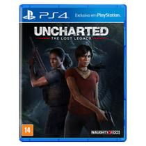 Jogo PS4 - Uncharted The Lost Legacy - Playstation
