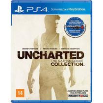Jogo ps4 uncharted: the nathan drake collection  playstation -