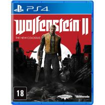 Jogo PS4 Wolfenstein 2: The New Colossus - Machinegames