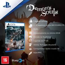 Jogo ps5 demon's souls  playstation -