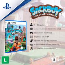 Jogo ps5 sackboy: uma grande aventura   playstation -