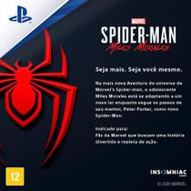 Jogo ps5 spider-man:miles morales  playstation -