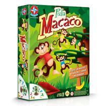 Jogo Pula Macaco Brinquedo Infantil Coleção Original Estrela -