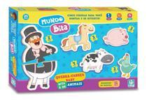Jogo Quebra Cabeça Baby Bita Nig Brinquedos -
